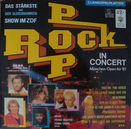 Cover Various - Rock Pop In Concert - München Open Air '87 (2xLP, Comp) Schallplatten Ankauf