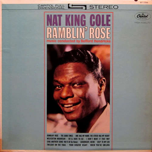 Cover Nat King Cole - Ramblin' Rose (LP, Album) Schallplatten Ankauf