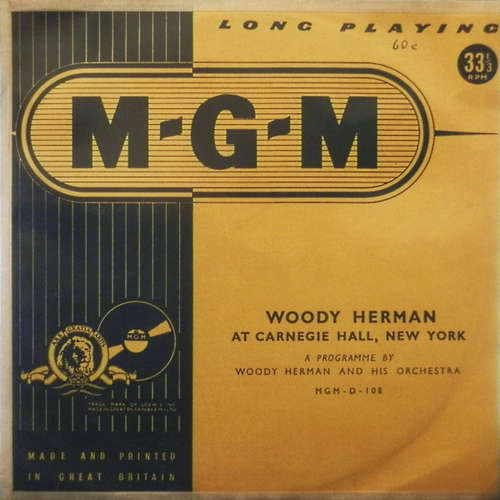 Bild Woody Herman And His Orchestra - Woody Herman At Carnegie Hall, New York (10, Mono) Schallplatten Ankauf