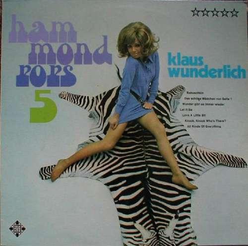 Cover Klaus Wunderlich - Hammond Pops 5 (LP) Schallplatten Ankauf