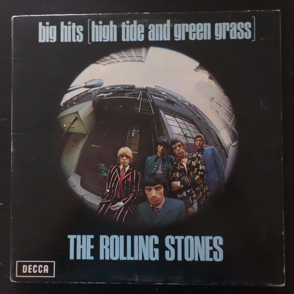 Cover The Rolling Stones - Big Hits [High Tide And Green Grass] (LP, Comp, RP, Gat) Schallplatten Ankauf