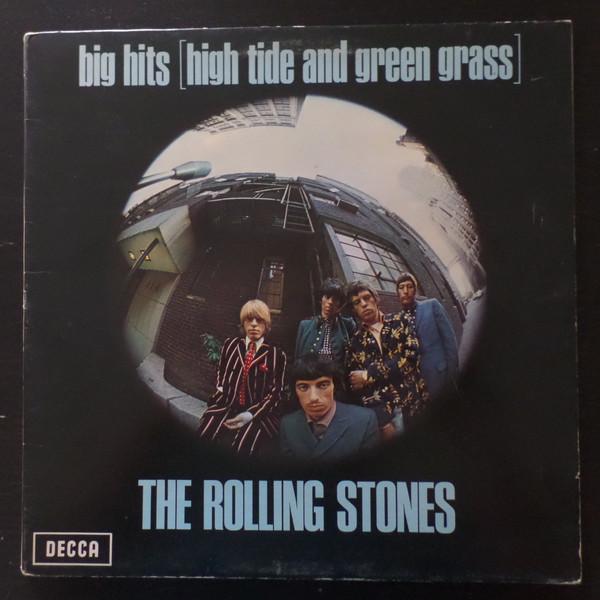 Cover zu The Rolling Stones - Big Hits [High Tide And Green Grass] (LP, Comp, RP, Gat) Schallplatten Ankauf