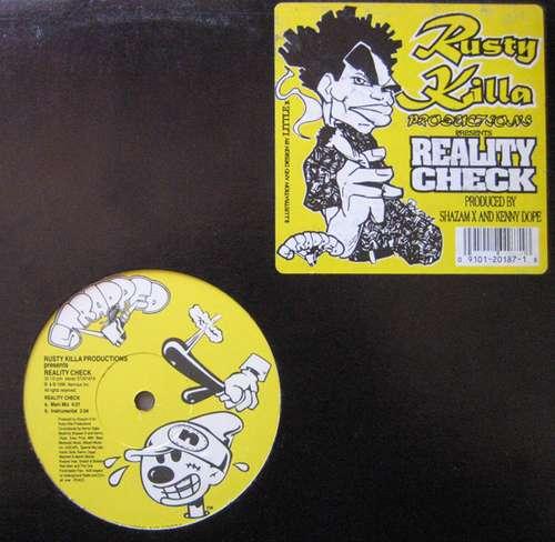 Cover Rusty Killa Productions - Reality Check (12) Schallplatten Ankauf