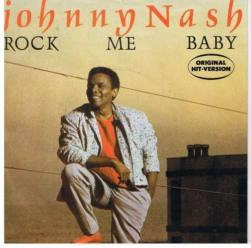 Bild Johnny Nash - Rock Me Baby (7, Single) Schallplatten Ankauf