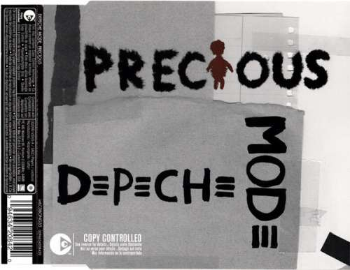 Cover Depeche Mode - Precious (CD, Single, Copy Prot.) Schallplatten Ankauf