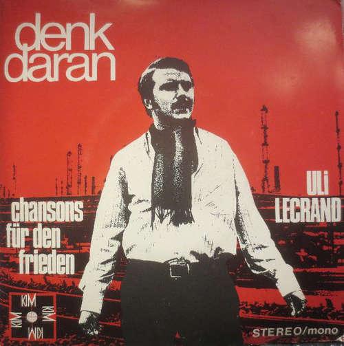 Bild Uli Lecrand Und Der Overbacher Jugendchor - Denk Daran (Chansons Für Den Frieden) (7, EP) Schallplatten Ankauf