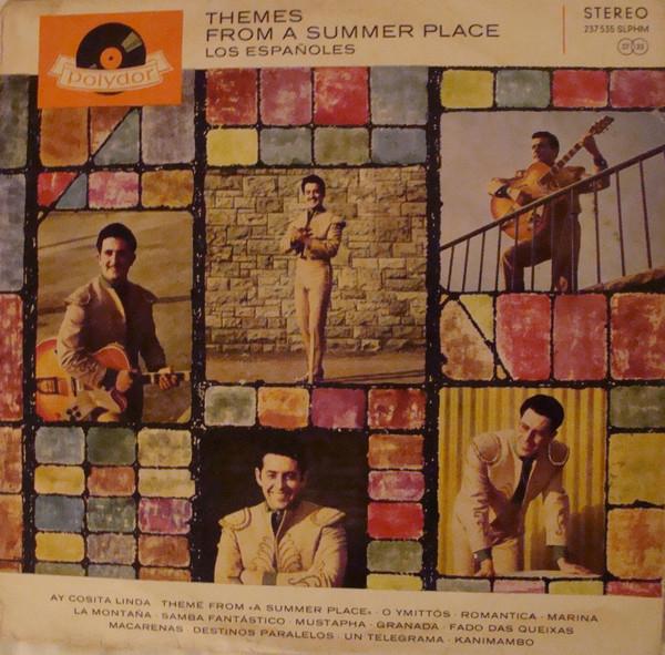 Cover Los Españoles - Themes From A Summer Place (LP, Album) Schallplatten Ankauf