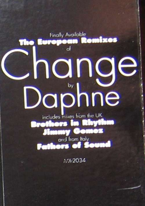 Bild Daphne - Change (The European Remixes) (12) Schallplatten Ankauf