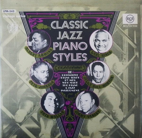 Bild Various - Classic Jazz Piano Styles (LP, Comp, Mono) Schallplatten Ankauf
