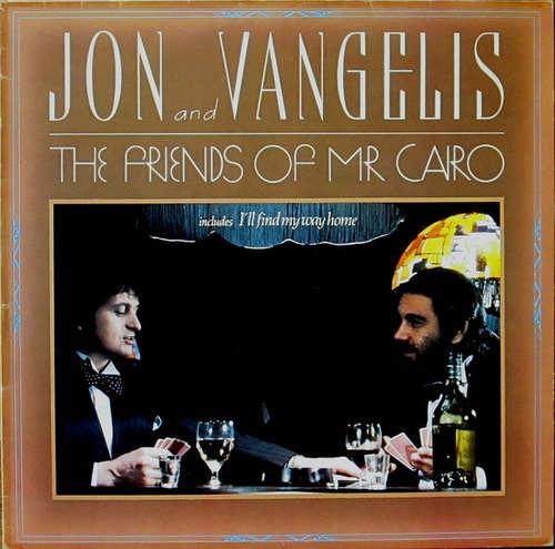 Cover zu Jon And Vangelis* - The Friends Of Mr. Cairo (LP, RE) Schallplatten Ankauf