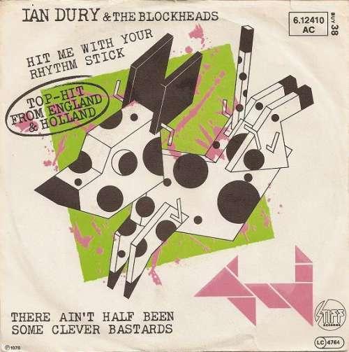 Cover zu Ian Dury & The Blockheads* - Hit Me With Your Rhythm Stick (7, Single) Schallplatten Ankauf