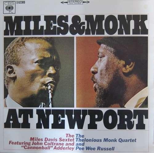 Bild The Miles Davis Sextet & The Thelonious Monk Quartet - Miles & Monk At Newport (LP, Album) Schallplatten Ankauf