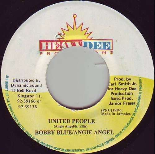 Bild Bobby Blue / Angie Angel - United People (7) Schallplatten Ankauf