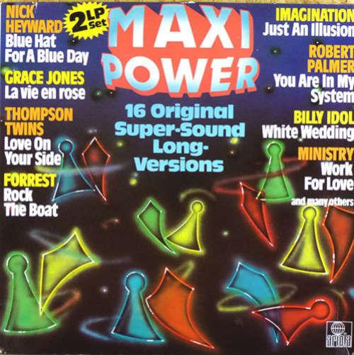 Cover Various - Maxi-Power 16 Original Super Sound Long Versions (LP, Comp, Dou) Schallplatten Ankauf