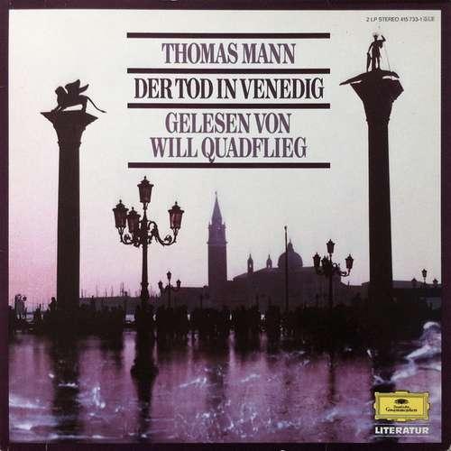 Cover Thomas Mann Gelesen Von Will Quadflieg - Der Tod In Venedig  (2xLP, Album) Schallplatten Ankauf