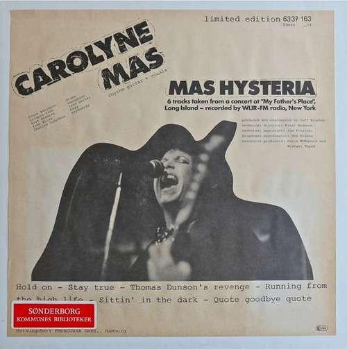 Bild Carolyne Mas - Mas Hysteria (LP, Album, Ltd) Schallplatten Ankauf
