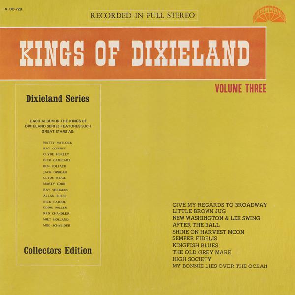 Bild Kings Of Dixieland - Kings Of Dixieland Volume Three (LP, Album, Col) Schallplatten Ankauf