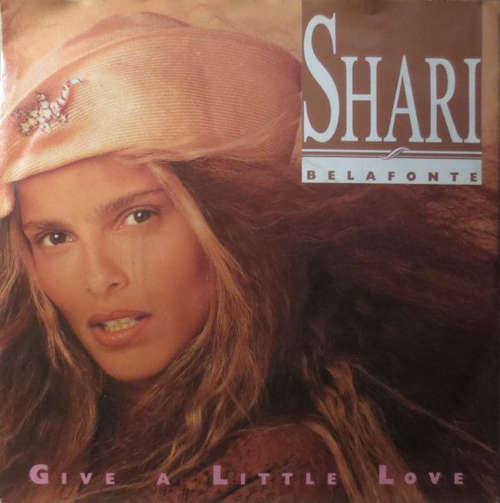 Cover zu Shari Belafonte - Give A Little Love (7, Single) Schallplatten Ankauf