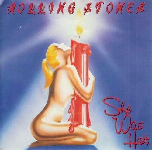 Cover Rolling Stones, The - She Was Hot (7) Schallplatten Ankauf