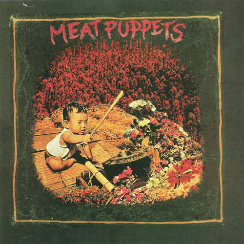 Cover Meat Puppets - Meat Puppets (LP, Album, RE) Schallplatten Ankauf