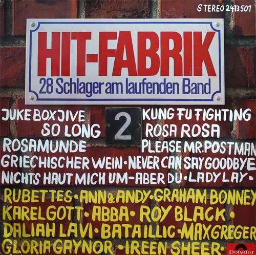 Bild Various - Hit-Fabrik 2 28 Schlager Am Laufenden Band (LP, Comp) Schallplatten Ankauf