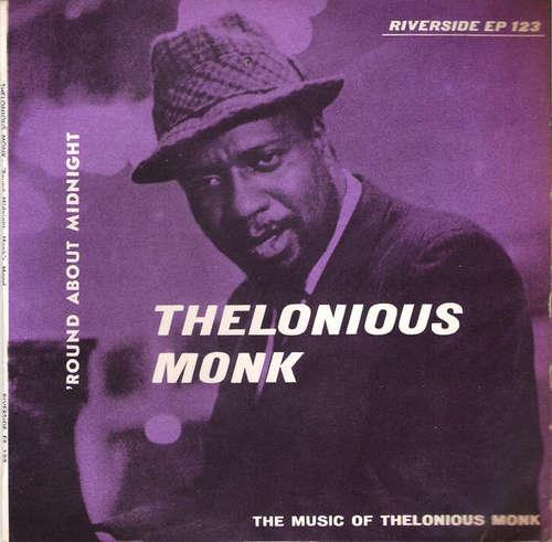 Cover Thelonious Monk - 'Round About Midnight (7, EP) Schallplatten Ankauf