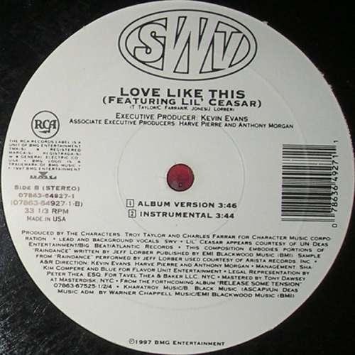 Bild SWV - Someone (12) Schallplatten Ankauf