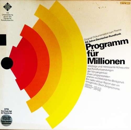 Cover Various - 50 Jahre Deutscher Rundfunk - Programm Für Millionen (Box + 2x12 + 7) Schallplatten Ankauf