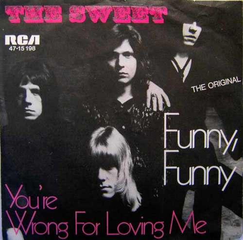 Cover The Sweet - Funny, Funny (7, Single, Mono) Schallplatten Ankauf