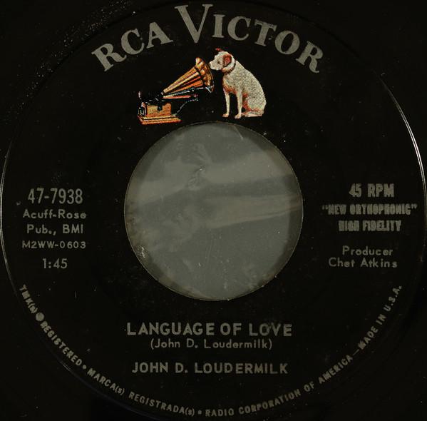Bild John D. Loudermilk - Language Of Love (7, Roc) Schallplatten Ankauf