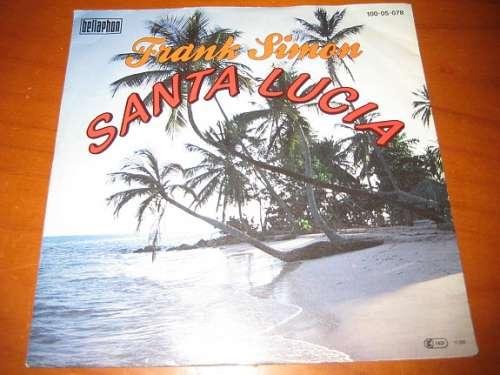 Bild Frank Simon (6) - Santa Lucia (7, Single) Schallplatten Ankauf
