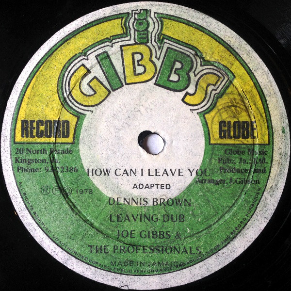 Cover Dennis Brown - How Can I Leave You (12, Single) Schallplatten Ankauf