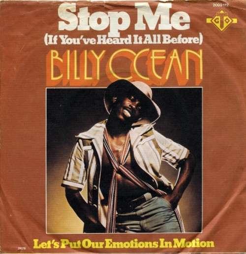 Bild Billy Ocean - Stop Me (If You've Heard It All Before) (7, Single) Schallplatten Ankauf