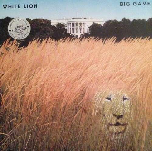 Bild White Lion - Big Game (LP, Album, Ltd) Schallplatten Ankauf