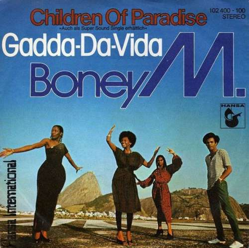 Cover zu Boney M. - Children Of Paradise / Gadda-Da-Vida (7, Single, Fir) Schallplatten Ankauf