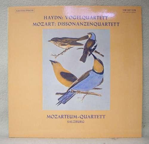 Bild Haydn*, Mozart*, Mozarteum-Quartett Salzburg* - Vogelquartett / Dissonanzenquarett (LP) Schallplatten Ankauf