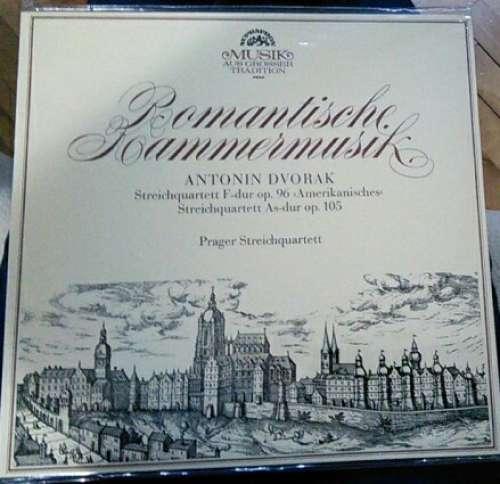 Bild Antonin Dvorak* - Prager Streichquartett* - Romantische Kammermusik - Streichquartett F-Dur Op. 96 Amerikanisches / Streichquartett As-Dur Op.105 (LP) Schallplatten Ankauf