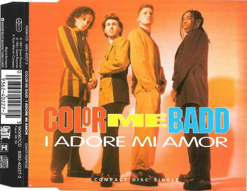 Cover Color Me Badd - I Adore Mi Amor (CD, Single) Schallplatten Ankauf
