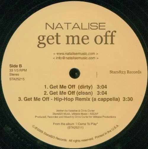 Cover Natalise - Get Me Off (12) Schallplatten Ankauf