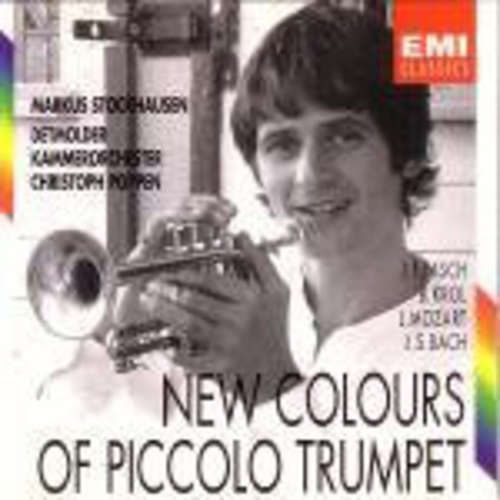 Bild Markus Stockhausen, Detmolder Kammerorchester, Christoph Poppen - New Colours Of Piccolo Trumpet (CD, Album) Schallplatten Ankauf