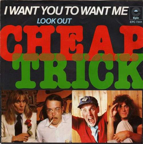Bild Cheap Trick - I Want You To Want Me (7, Single) Schallplatten Ankauf