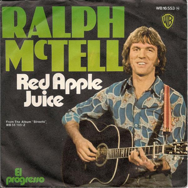 Bild Ralph McTell - Red Apple Juice (7, Single) Schallplatten Ankauf