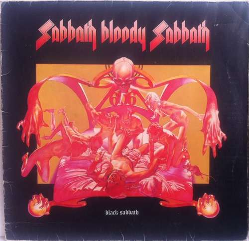 Cover Black Sabbath - Sabbath Bloody Sabbath (LP, Album, Gat) Schallplatten Ankauf