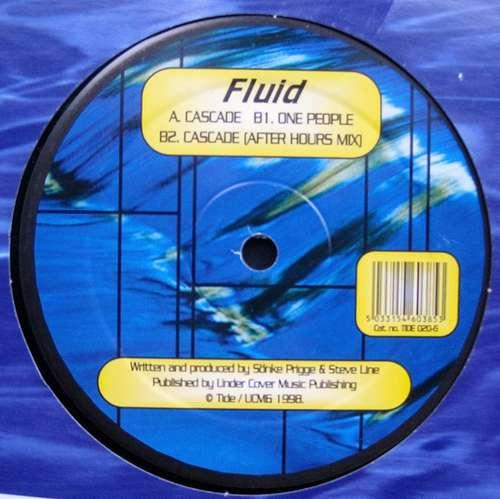 Cover zu Fluid (2) - Cascade / One People (12) Schallplatten Ankauf