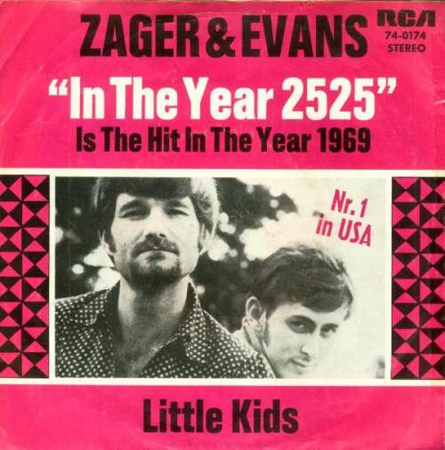 Cover Zager & Evans - In The Year 2525 (7, Single) Schallplatten Ankauf