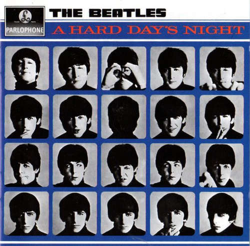 Cover The Beatles - A Hard Day's Night (CD, Album, Mono, RE) Schallplatten Ankauf