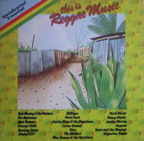 Cover zu Various - This Is Reggae Music (2xLP, Comp, Gat) Schallplatten Ankauf