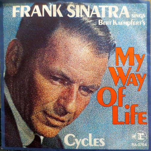 Cover Frank Sinatra - My Way Of Life / Cycles (7, Single) Schallplatten Ankauf