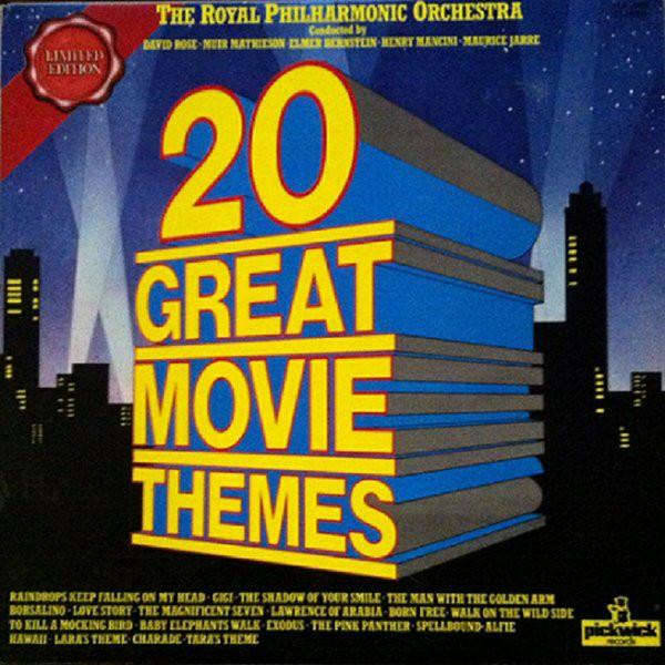 Bild The Royal Philharmonic Orchestra - 20 Great Movie Themes (LP, Comp, Ltd) Schallplatten Ankauf