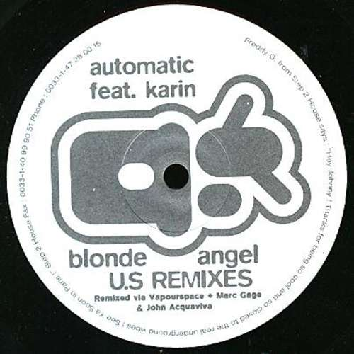 Bild Automatic - Blonde Angel (US Remixes) (12) Schallplatten Ankauf